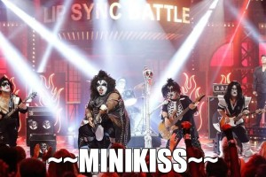 Minikiss band nails it